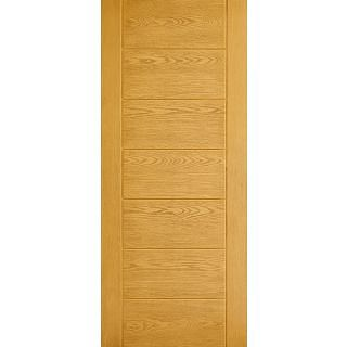 Modica GRP External Door - 1981 x 838mm Oak   GRPMODOAK33